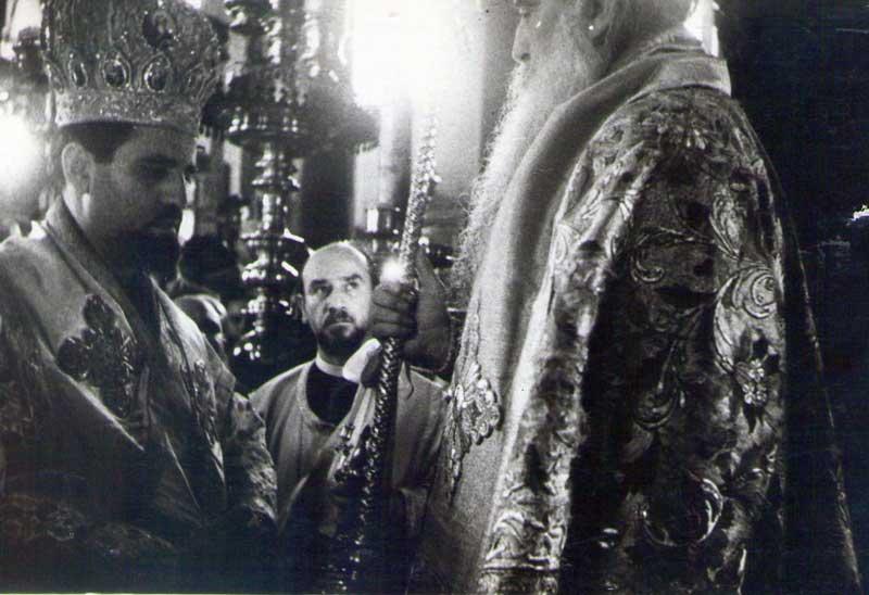 Ἡ χειροτονία ἀπὸ τὸν πατριάρχη Ἀθηναγόρα