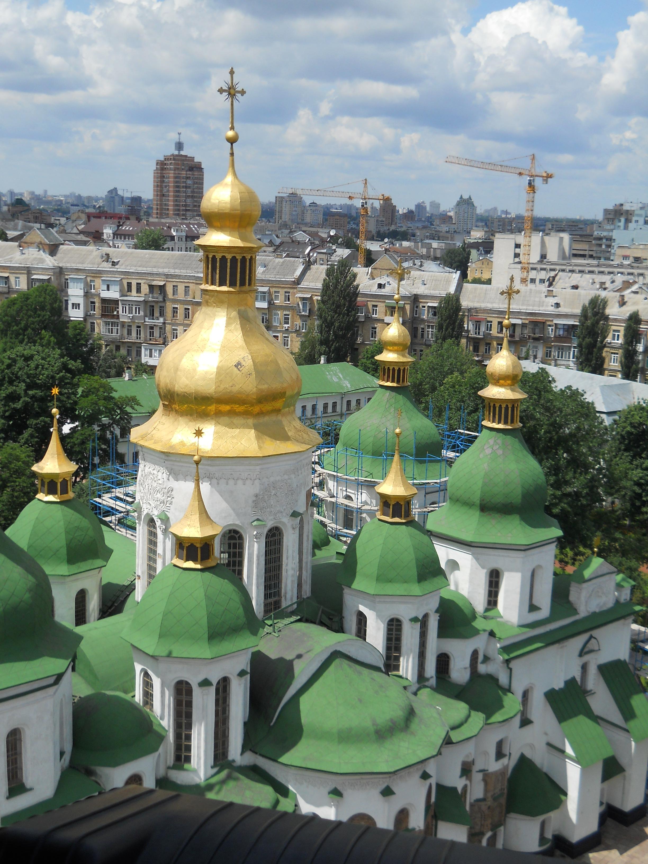 Saint Sophia Monastery kiev ukraine